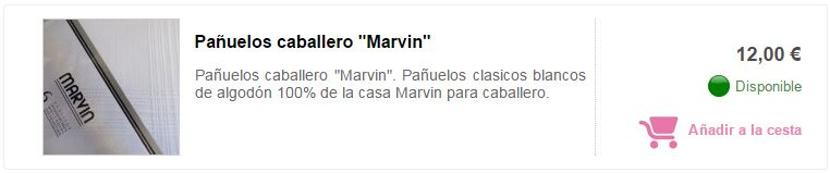 panuelo caballero marvin